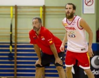 """Sergio Rodríguez: """"Nos gustaría jugar más a todos, pero la competencia te hace más fuerte"""""""