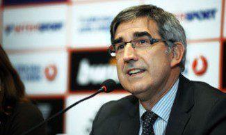 Bertomeu avisa al Unicaja sobre una marcha a la FIBA: «Costaría volver a entrar»
