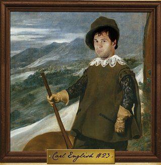 Carl English en un cuadro de Velázquez? El Asefa Estudiantes