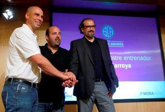 Peñarroya, contento de que se vincule a Víctor Sada con el Andorra: «Un jugador excelente»