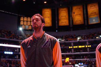 Pau Gasol se marcha a los Chicago Bulls. Lee su emotiva despedida de los Lakers