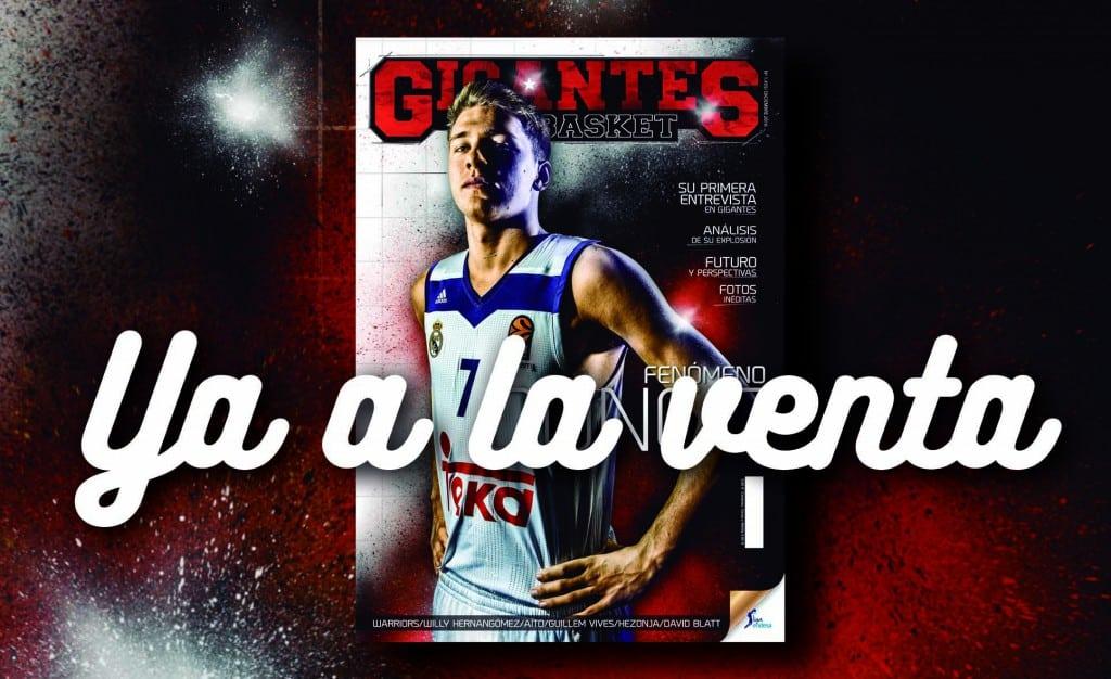 Primera portada de Doncic en Gigantes. Entrevista, fotos y análisis del Fenómeno