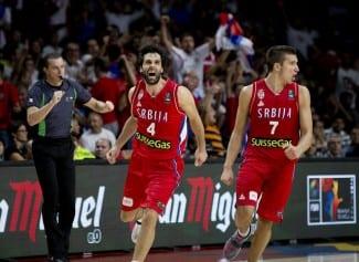 Copa del Mundo: Teodosic neutraliza la exhibición de Batum y mete a Serbia en la final