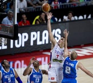 Copa del Mundo: Serbia mantiene la hegemonía del grupo A: cuarta, se carga a Grecia, primera del B