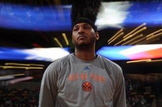 """Modesto baja que sube Carmelo: """"Soy la superestrella más infravalorada de la NBA"""""""