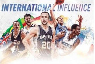 Récord de jugadores extranjeros en la NBA: España, cuarto país que más aporta