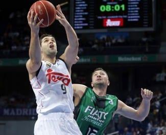 El Real Madrid, el Barça, el Unicaja y el Bilbao Basket ganan. Únicos invictos (Vídeos)
