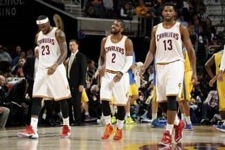 Los Cavaliers arrasan al Maccabi: Irving lidera y LeBron descansa media parte (Vídeo)