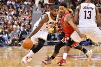 Rose e Irving se pican y anotan 58 puntos entre los dos. Mira qué exhibición (Vídeo)