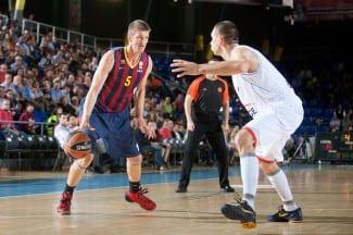 Euroliga: El Barça y el Unicaja siguen invictos. El Baskonia gana en el debut de Vujacic (Vídeos)