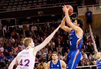 El Andorra ya sabe ganar finales agónicos. David Navarro sentencia al Baskonia (Vídeo)