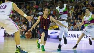 Abrines lidera al Barça ante el Baskonia. El Obradoiro y el Tenerife arrancan fuertes