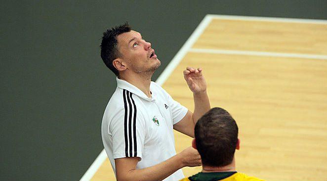 """Jasikevicius ya piensa como entrenador. """"El Madrid depende de Rudy y de Llull"""""""
