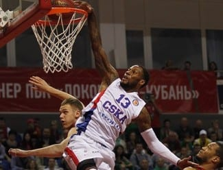 Weems firma un mate brutal pero el CSKA pierde antes de debutar en la Euroliga (Vídeo)