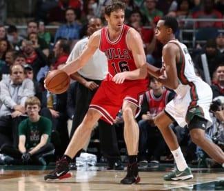 Pau, sin Noah, asume galones y firma su mejor partido con los Bulls (Vídeo)