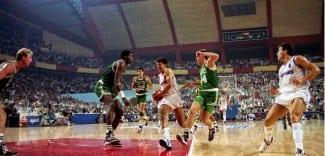 Los Celtics volverán a jugar en Madrid. Recuerda su mítica visita en 1988
