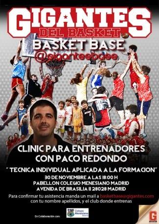 Clínic de Paco Redondo para entrenadores