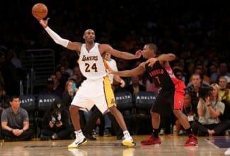 Kobe sigue imparable: es el jugador más veterano en hacer un triple-doble (Vídeo)