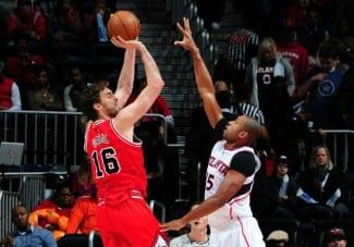 Los Bulls caen en Atlanta con su anotación más baja y un pésimo porcentaje de tiro