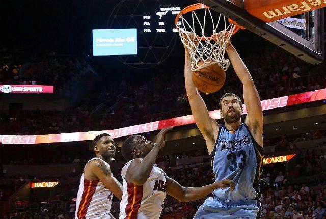 Los Grizzlies ganan en Miami. Marc brilla y recupera la pole position para el MVP