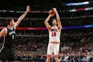 Los Bulls pierden ante los Nets con un pésimo tiro de campo. Brook López les destroza