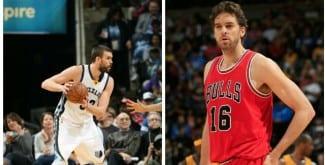 Esta noche el 19º 'Duelo Gasol NBA', en lo más alto. Hasta la fecha, Pau 10 – Marc 8