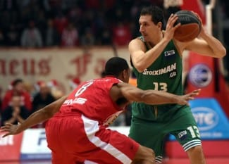 Darden seca a Diamantidis y el Olympiacos gana al Panathinaikos en la Liga Griega
