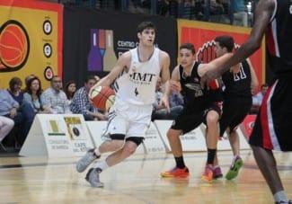 La joven promesa del Madrid, Santi Yusta, premiado como uno de los mejores deportistas madrileños