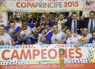El Palencia se lleva su primera Copa Príncipe ante un irreconocible Breogán. Forcada, MVP