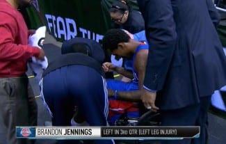 Jennings se rompe. Los Pistons pierden a su timón lo que resta de temporada (Vídeo)