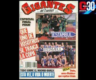 Estu – Penya, pura tradición. Su semifinal en la F4 de Estambul, hace 28 años