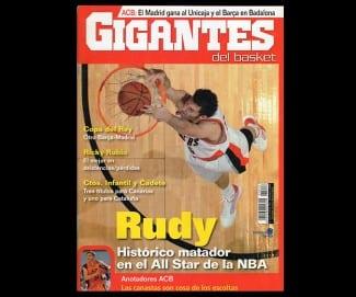 Rudy Fernández, histórico matador en el All-Star de la NBA