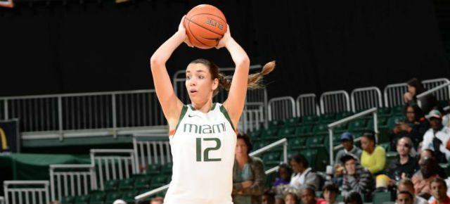 La alero española Laura Quevedo deja la NCAA desencantada con la Universidad de Miami