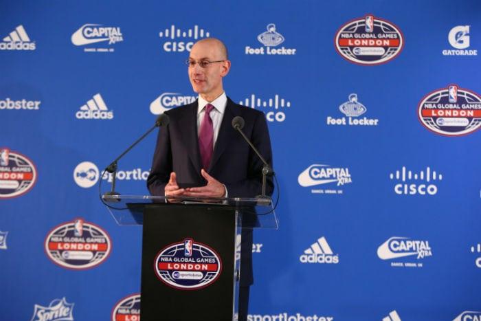 Adam Silver, comisionado de la NBA, quiere cambiar el formato de los playoffs