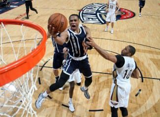 Westbrook aniquila a los Pelicans con ¡45 puntos! Ibaka, duro atrás: 7 tapones (Vídeo)