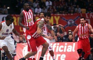 El Olympiacos se entona. Tumba al CSKA, único invicto de la Euroliga. Spanoulis decide