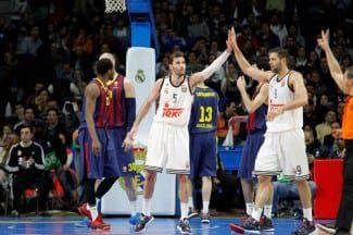 Fiesta blanca: Sergio Rodríguez, Rudy y la defensa anulan al Barça (Vídeo)