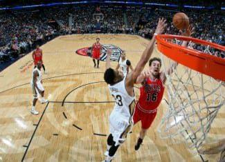Los Bulls barren a los Pelicans tras la lesión de Anthony Davis. Pau Gasol se sale (Vídeo)