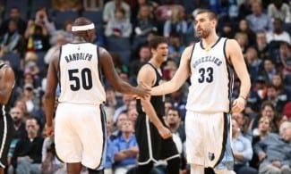 Los Grizzlies se exhiben ante los Nets. Pase de mago de Marc para el vuelo de Green (Vídeo)