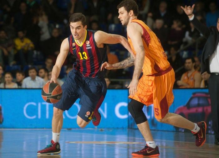 El Barça y Navarro recuperan sensaciones. Triples para tumbar al Galatasaray (Vídeo)