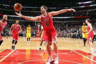 Los Bulls se toman a los Cavs de aperitivo del All-Star. Pau, a un doble-doble de Jordan