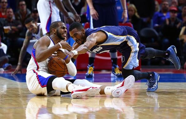 Unos rocosos Grizzlies ganan a los Clippers. Chris Paul perdió el balón decisivo (Vídeo)