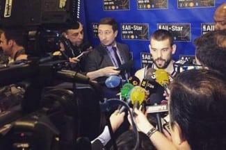"""Marc, feliz All-Star: """"He hablado con Pau más en este partido que en cualquier otro"""""""