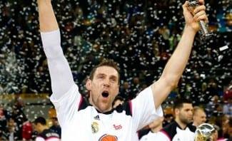 Andrés Nocioni, tras llevarse la Copa: «Vine al Madrid a ganar títulos como este»