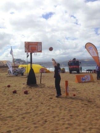 Este año el Reto Bifrutas de la Copa del Rey 2015 cambia el parquet por la arena.
