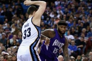 Memphis cae en Sacramento. DeMarcus Cousins gana el duelo ante Marc (Vídeo)