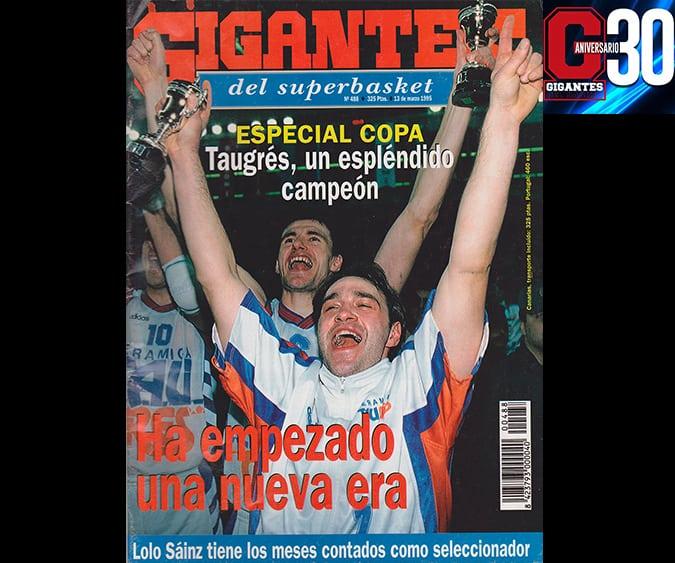 Granada'95. La 1a Copa del Baskonia. Laso y Perasovic, cocineros antes que frailes