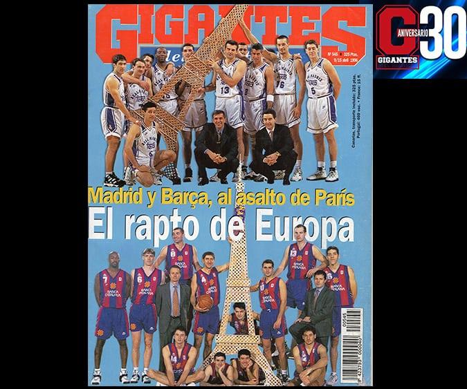 Grandes noches europeas. Madrid y Barça, al asalto de París en 1996