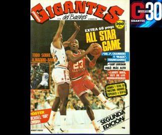 All-Star Seattle'87. ¡El número más vendido de la historia de Gigantes!