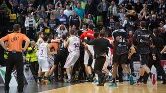 Ya hay sanciones para la pelea de Bilbao: 5 partidos a Shengelia y 4 a Dejan Todorovic